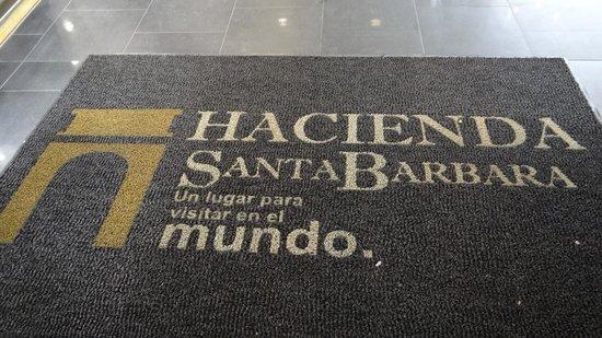 Hacienda Santa Barbara: alfombra