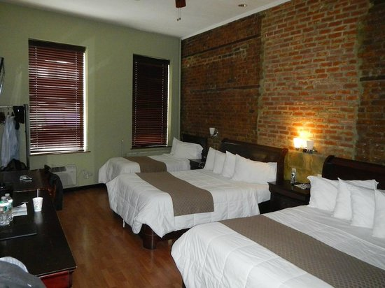 Sohotel:                   room