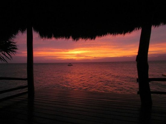 The Blue Orchid Resort:                   Sunset