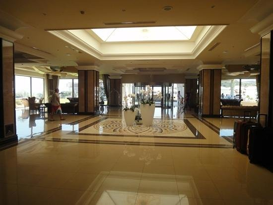 La Marquise Luxury Resort Complex:                   main entrance