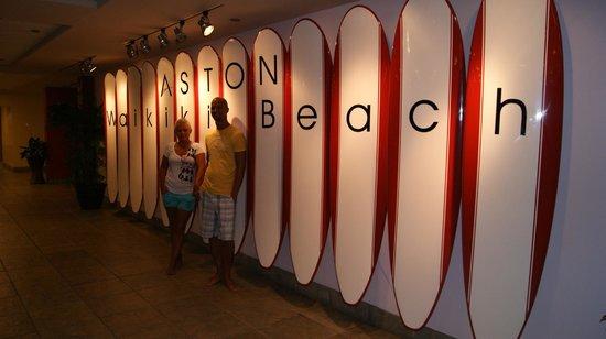 Aston Waikiki Beach Hotel: 1st floor