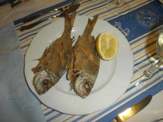 El Chacalote:                   pescadito frito