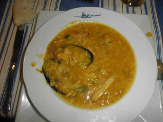 El Chacalote:                   arroz caldoso