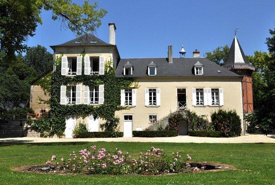 Domaine de l'Ermitage : L'Ermitage, côté parc....