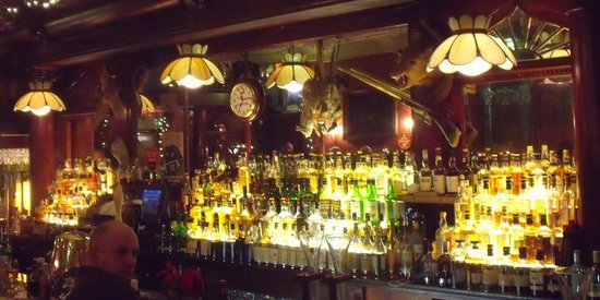 The Irish Lion Restaurant & Pub: Fully stocked bar, Guiness on tap, Scotch out the wazoo