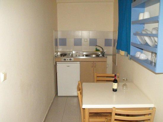 Hotel Irinna:                   kitchen