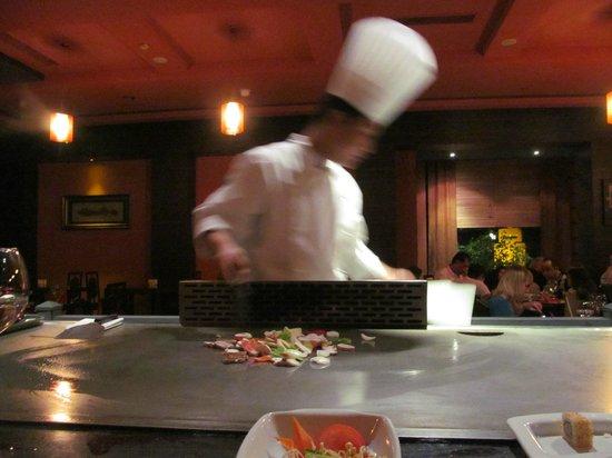 Voyage Belek Golf & Spa:                   Teppanyaki Restaurant