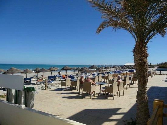 سنتيدو جربة بيتش:                   Le bar de la plage                 