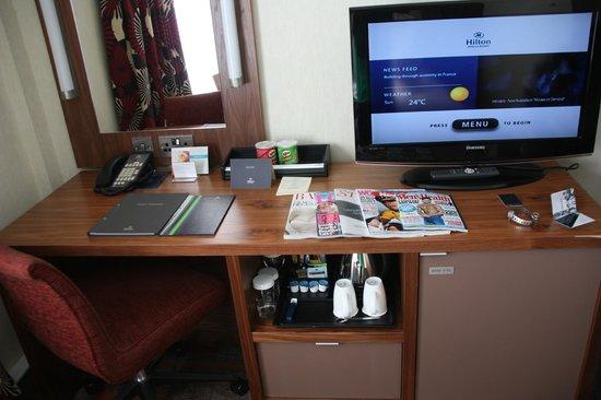 Hilton London Olympia:                   Desk