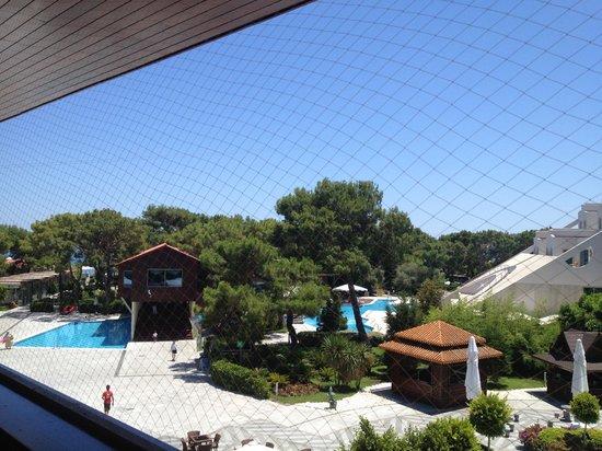 Rixos Sungate:                   view from buffet restaurant