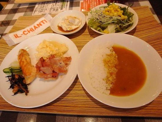 Hotel Resol Trinity Kanazawa :                   營養滿點的自助式早餐