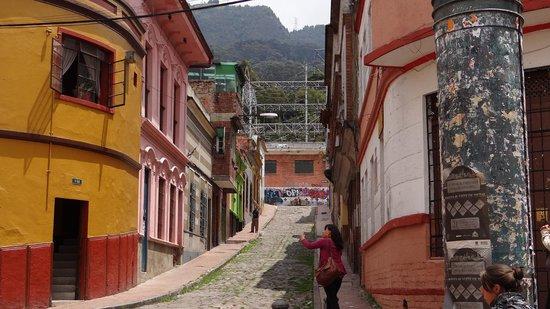 Chorro de Quevedo: callejon donde esta el hostal