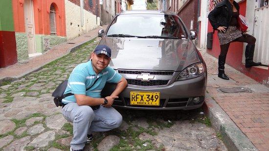 Chorro de Quevedo: frente al hostal