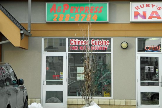 A & P Chinese Food Express