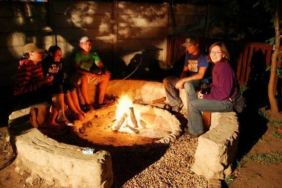 All Africa J Bay Lodge: Bon Fire