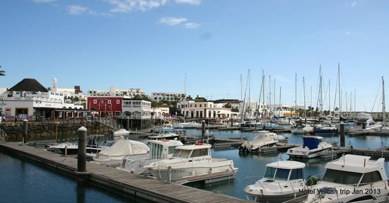 Hotel THe Volcan Lanzarote:                   nearby marina
