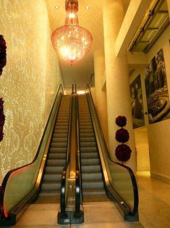 Sofitel Brussels Le Louise:                   entrée de l'hôtel