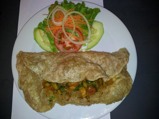 Indian House :                   puree