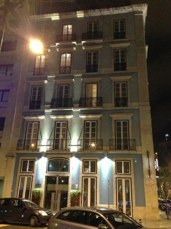 Heritage Avenida Liberdade Hotel: Front of the hotel
