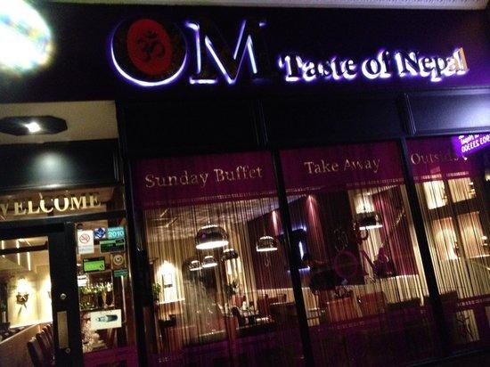 OM Restaurant: OM @ night