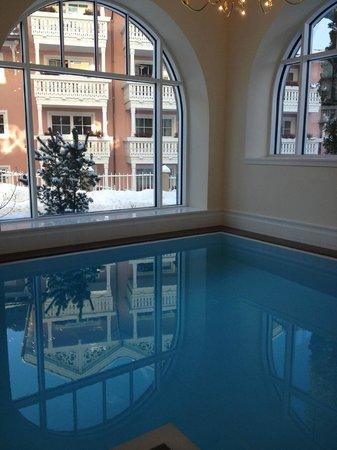 Hotel am Stetteneck :                   Pool