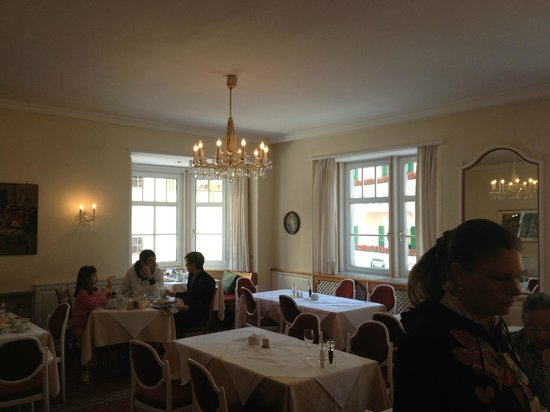 Hotel am Stetteneck:                   Dining room