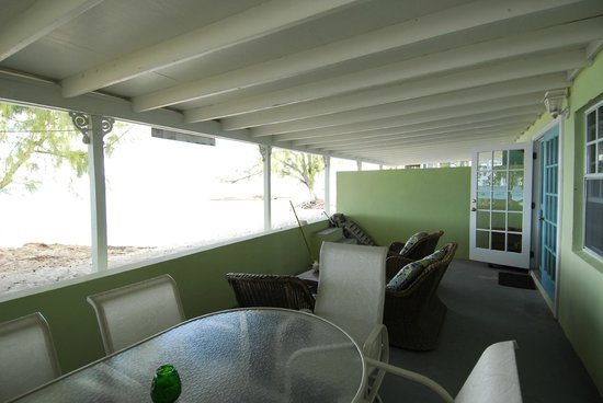Crabtree Apartments:                   Unit 2 Lanai
