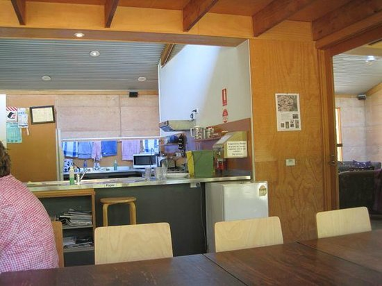 Grampians Eco YHA:                   One of the two kitchens