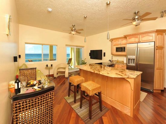 Sea Shore Allure: Standard One Bedroom Kitchen & Dining Room Area