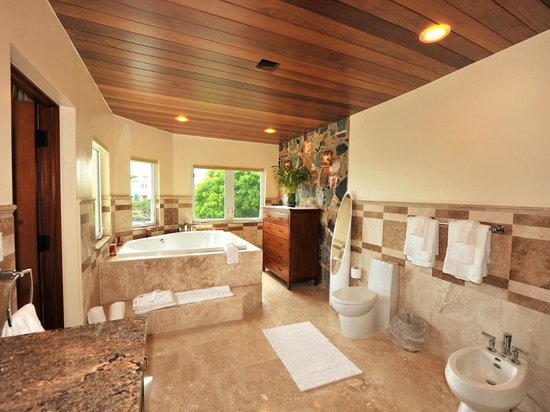 Sea Shore Allure: Two & Three Bedroom Master Bedroom Bath with Jetted Spa Tub