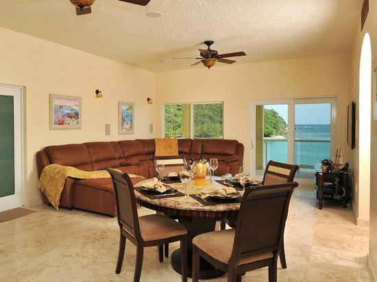 Sea Shore Allure: Two Bedroom Living Room & Dining Room