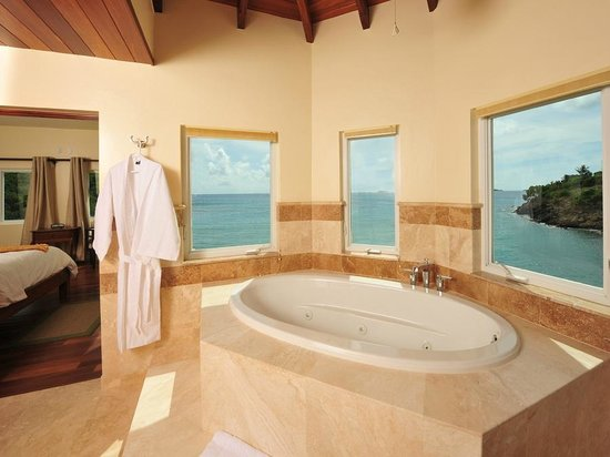 Sea Shore Allure : Two & Three Bedroom Master Bathroom