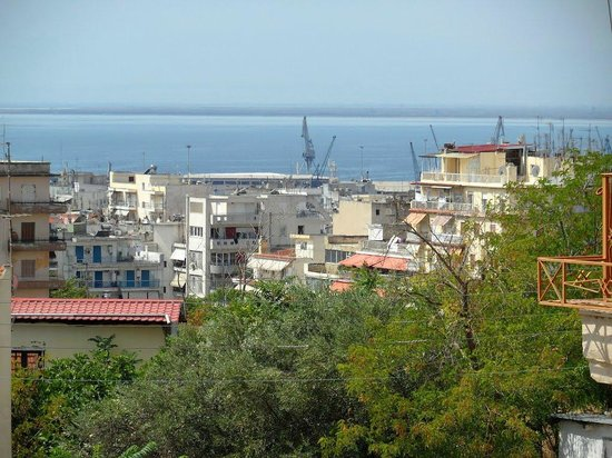 Thessaloniki Studios: view from the room
