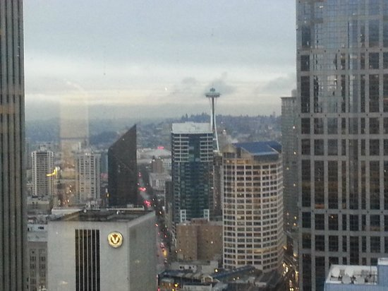 Crowne Plaza Seattle Downtown Area:                   View from my room on the 34th floor