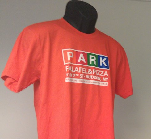 Park Falafel & Pizza: Must Have Shirt - American Apparel - Choice of Colors