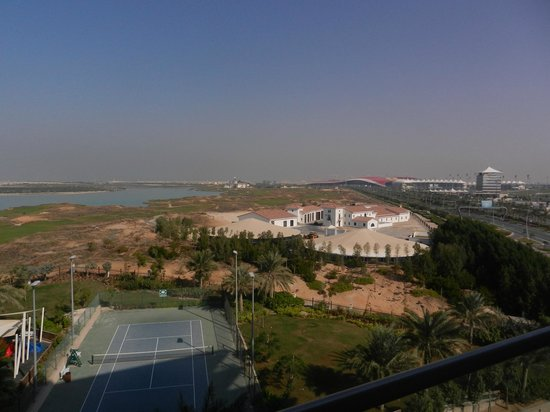 Park Inn by Radisson Abu Dhabi Yas Island: view from room