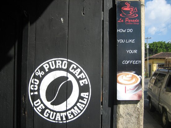 Cafe La Parada: Guatemala coffee at La Parada - the best!