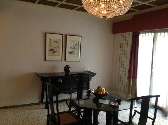 Mandarin Oriental, Singapore: table