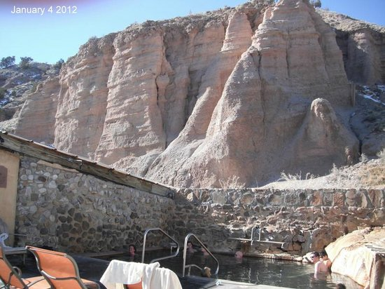 Ojo Caliente Mineral Springs Resort and Spa :                   Ojo Caliente Hot Springs