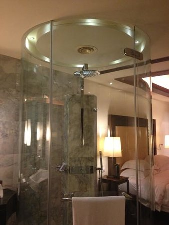 Centara Grand Beach Resort Phuket:                   rain shower deluxe spa room