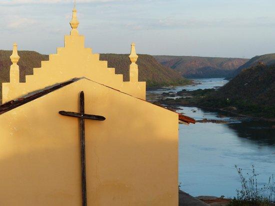 Pousada Maria Bonita:                   vista do Rio São Francisco