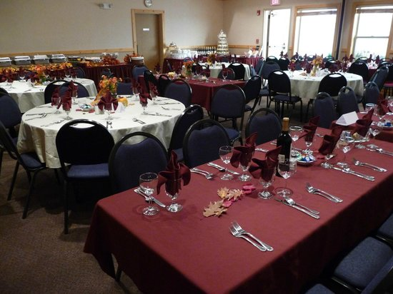 Salmon Rapids Lodge: Wedding Reception