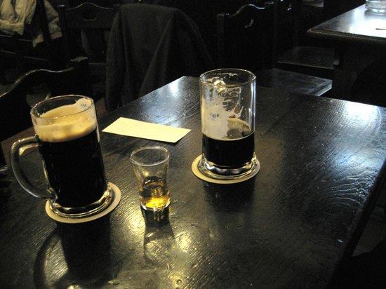 Hotel Waldstein:                                     Local Dark Beer