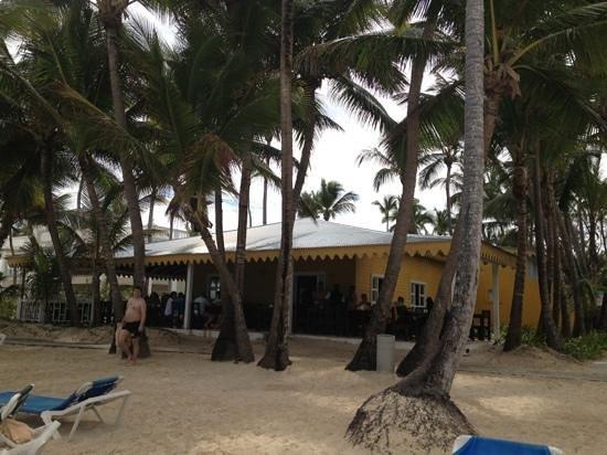 Hotel Riu Naiboa: ristorante/bar sulla spiaggia