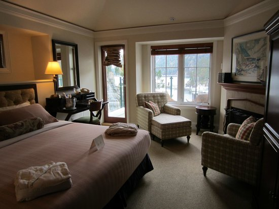 Poets Cove Resort & Spa:                   Our Room