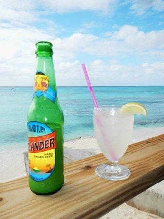 Sandbar Restaurant: Grand Turk Islander Ginger Beer