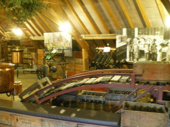 De Halve Maan Brewery: inside brewery