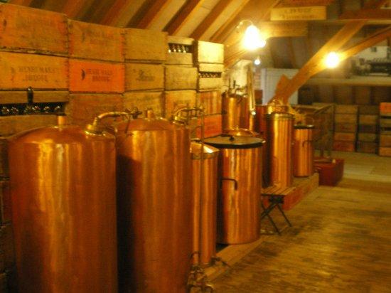 De Halve Maan (Straffe Hendrik) Brewery: inside brewery