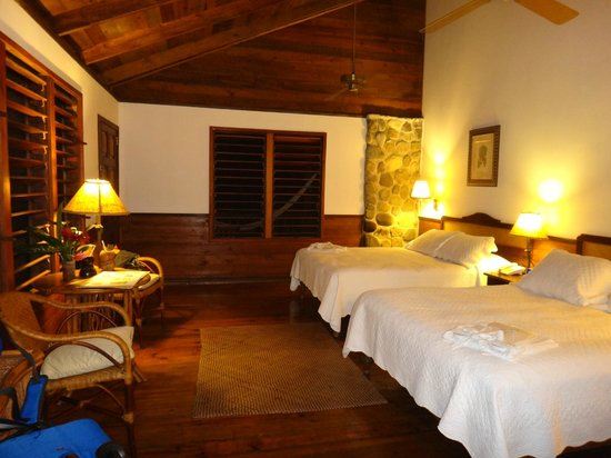 The Lodge and Spa at Pico Bonito :                                     Villa standard