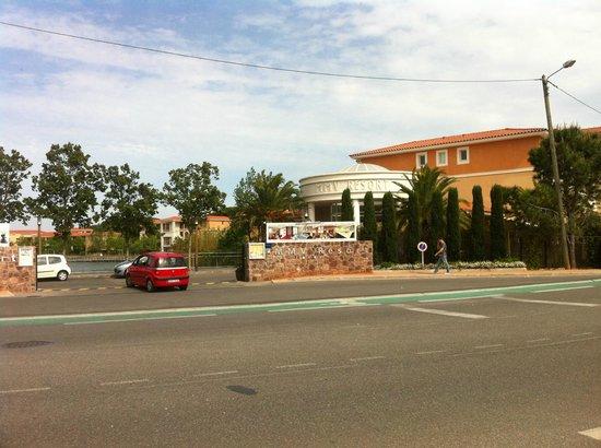 Mimozas Resort & SPA:                   entrée du MMV